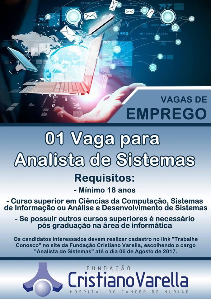 Vagas de Emprego - Analista de Sistemas (1)