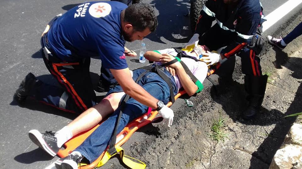 acidente trombada