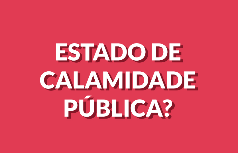 CALAMIDADE PUBLICA