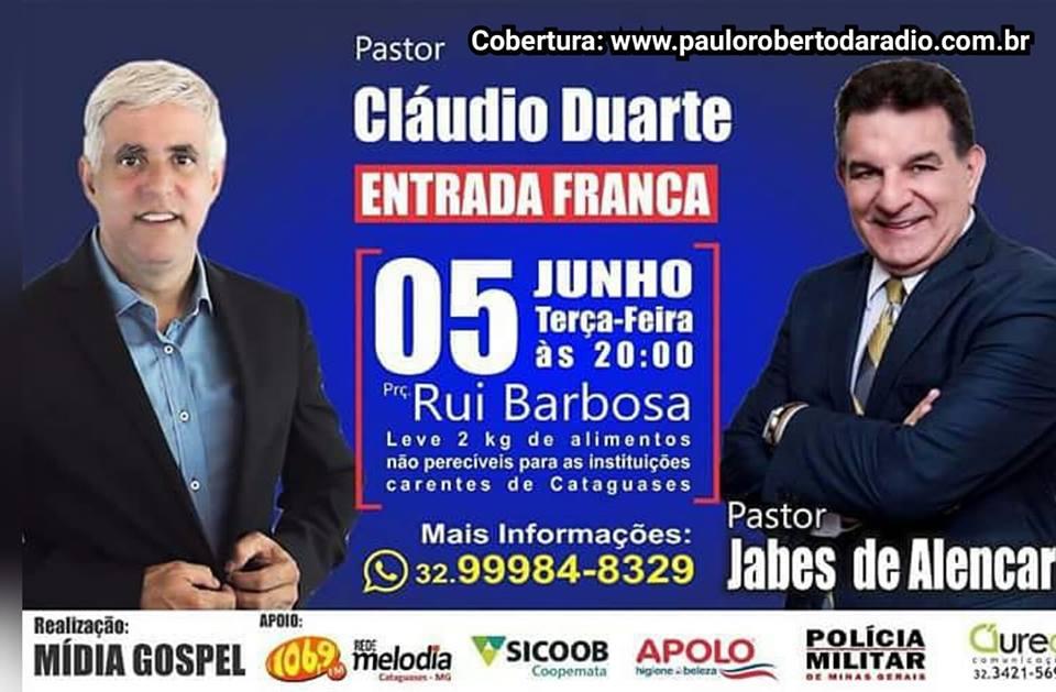 CLAUDIO DUARTE- COBERTURA