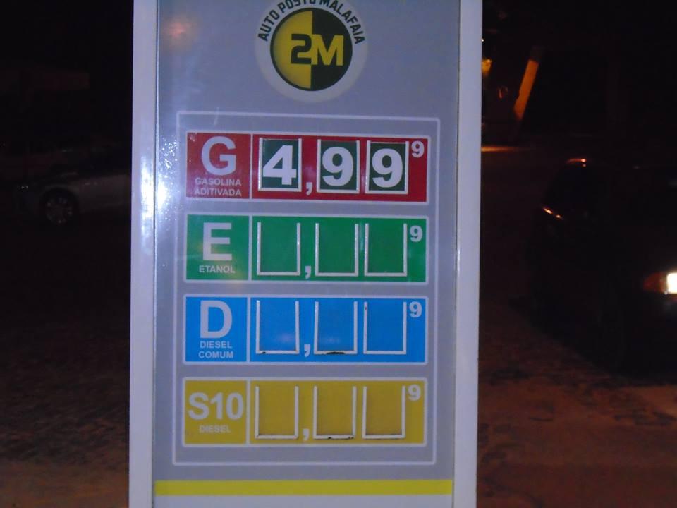 gasolina malafaia