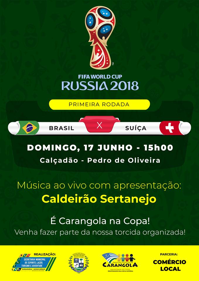 PREFEITURA DE CARANGOLA NA COPa