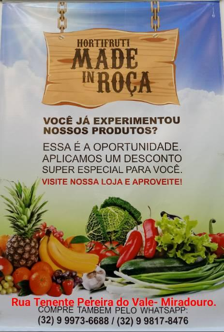 MADE IN ROÇA BANNER
