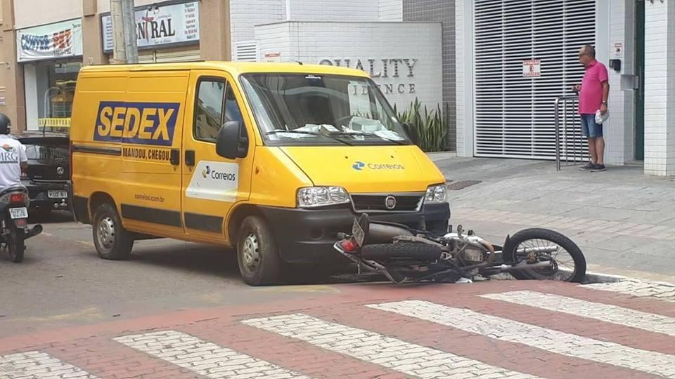 acidente correio