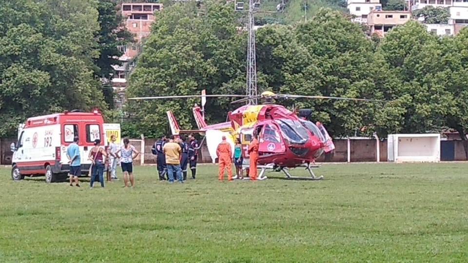 helicoptero carangola