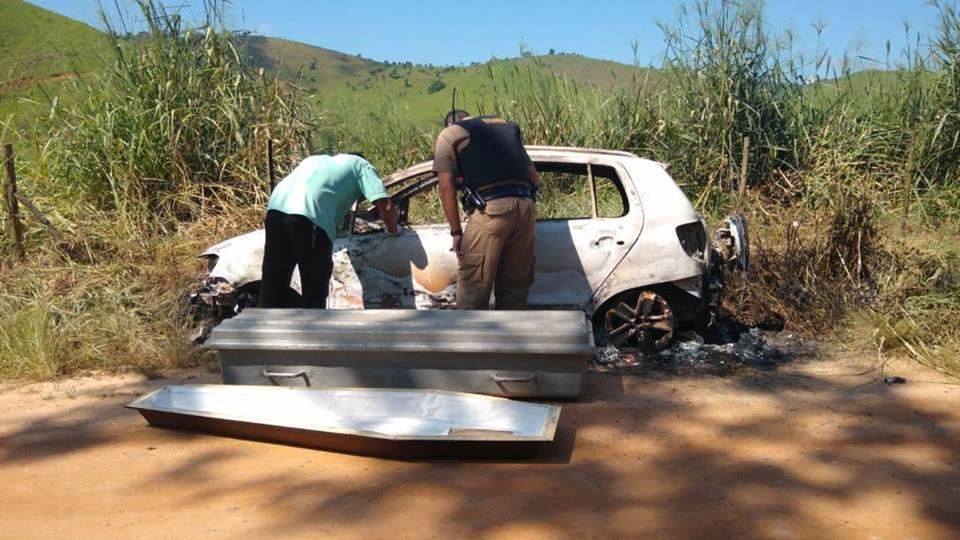 carro queimado itamuri
