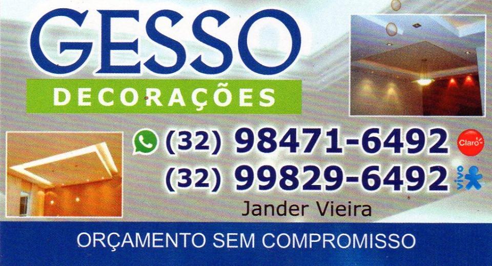GESSO JANDER FERVEDOURO